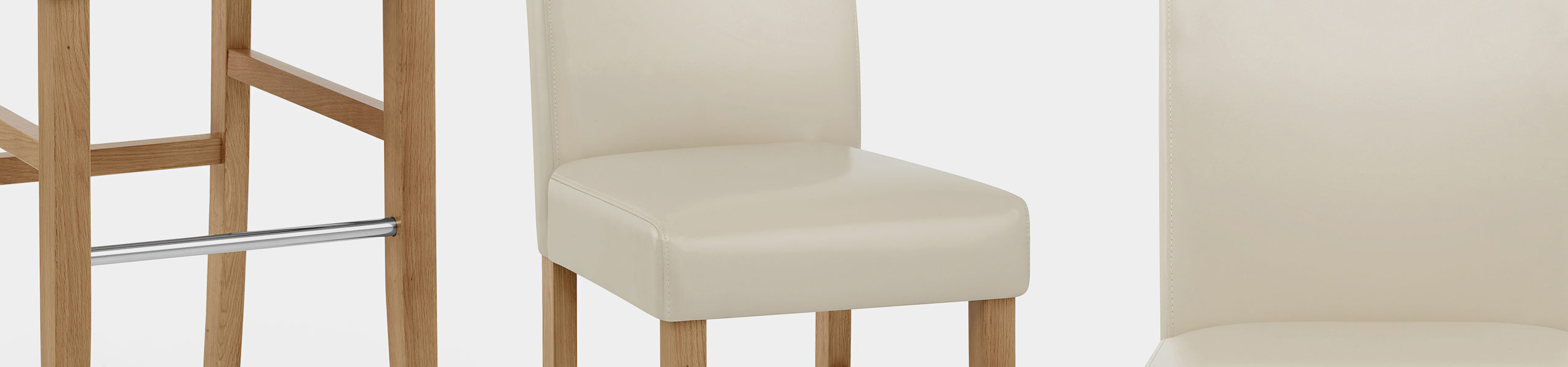 Purnell Oak Stool Cream Video Banner