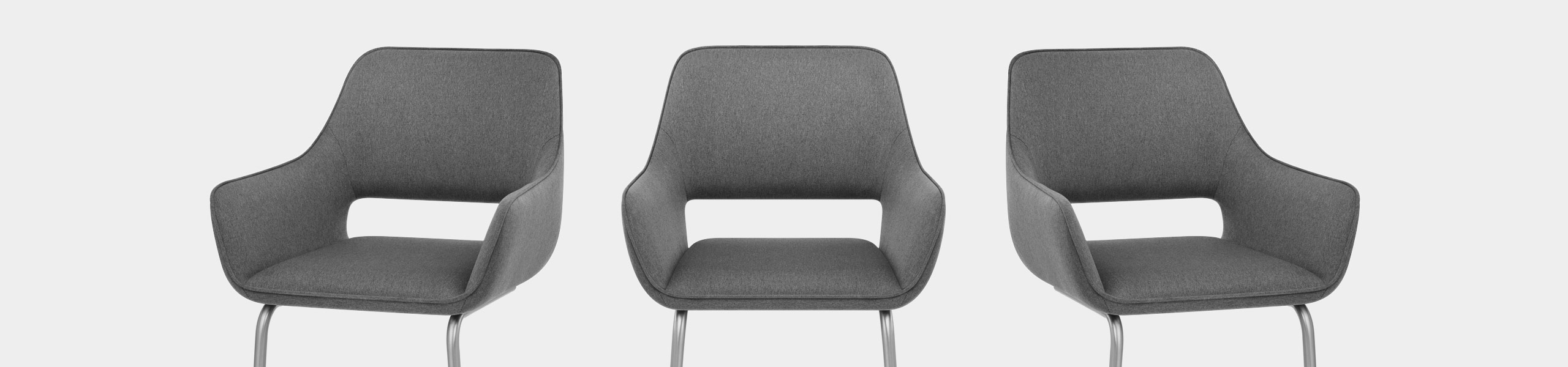 Remix Dining Chair Grey Fabric Video Banner