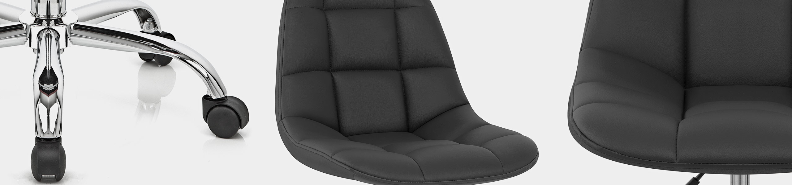 Rochelle Office Chair Black Video Banner