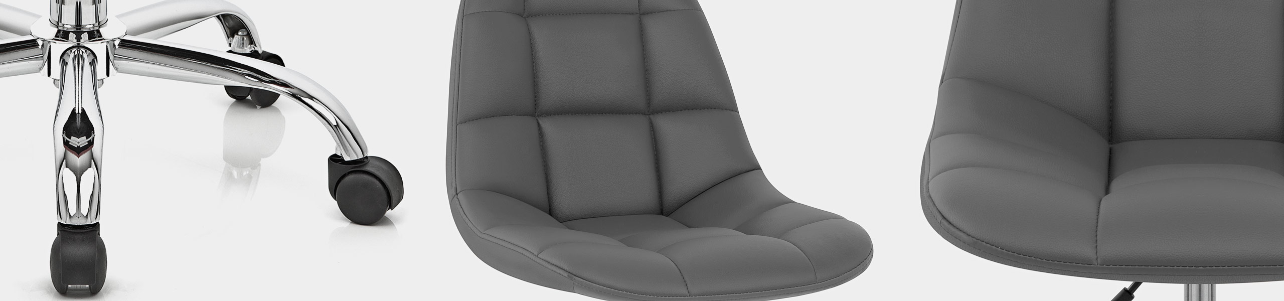 Rochelle Office Chair Grey Video Banner
