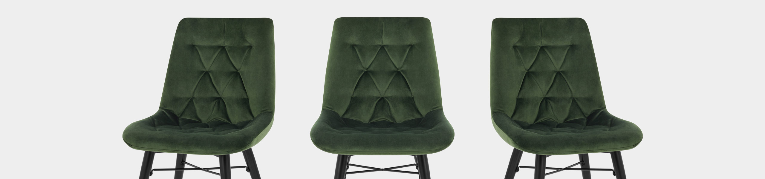 Roxy Dining Chair Green Velvet Video Banner