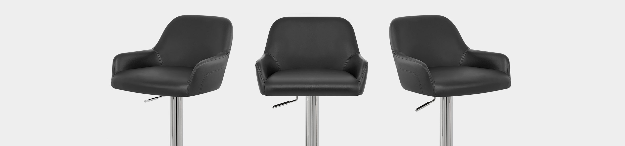 Sassi Bar Stool Black Video Banner