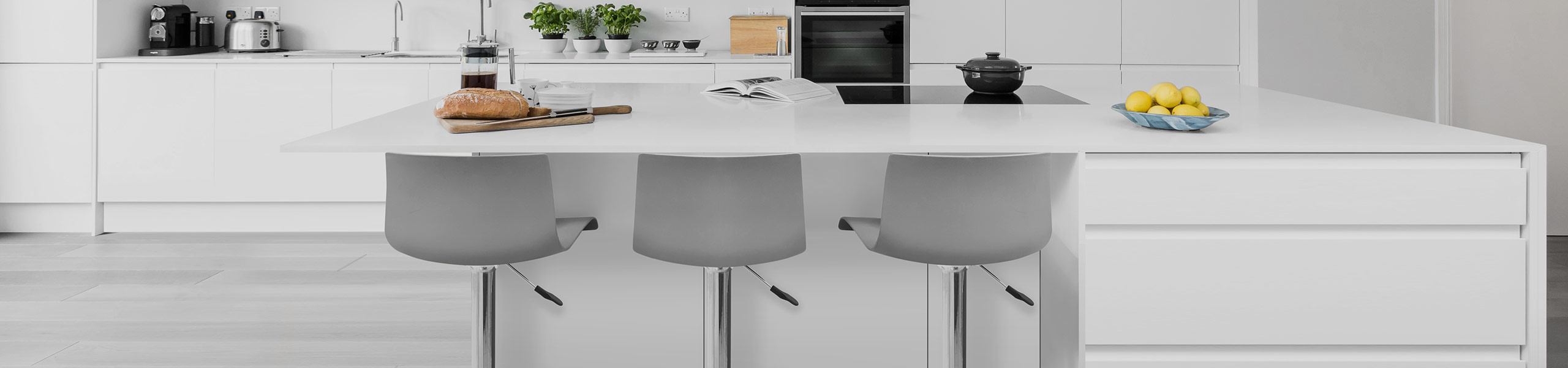 Serena Bar Stool Grey Video Banner