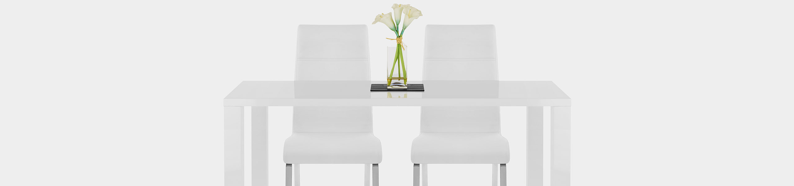 Sherman Dining Chair White Video Banner