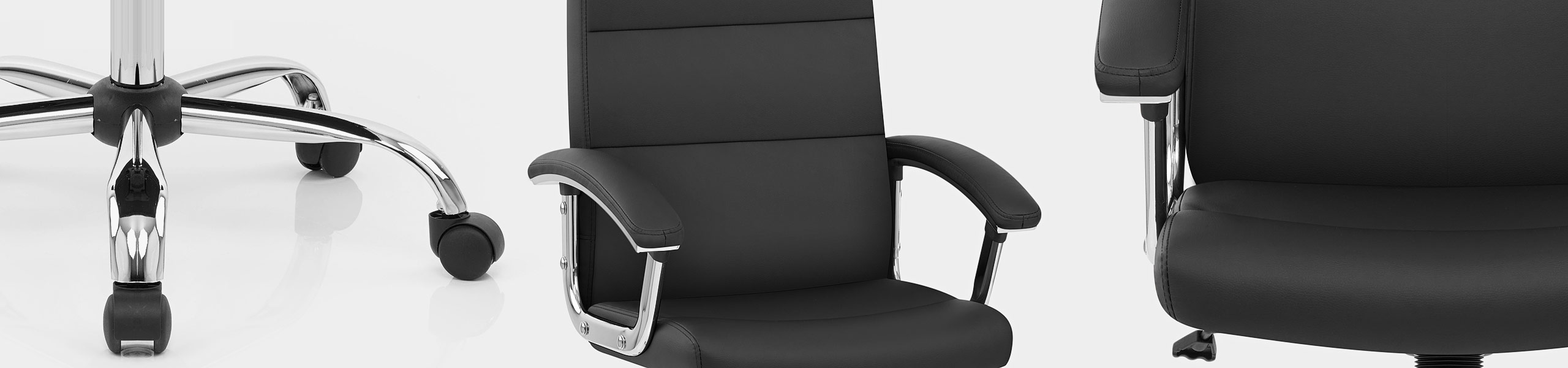 Stanford Office Chair Black Video Banner