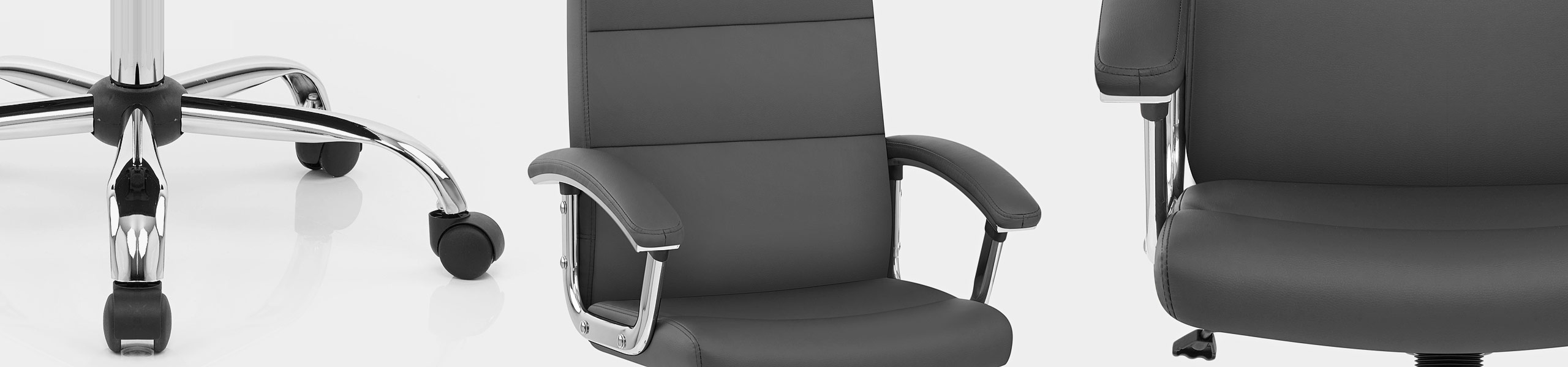 Stanford Office Chair Grey Video Banner