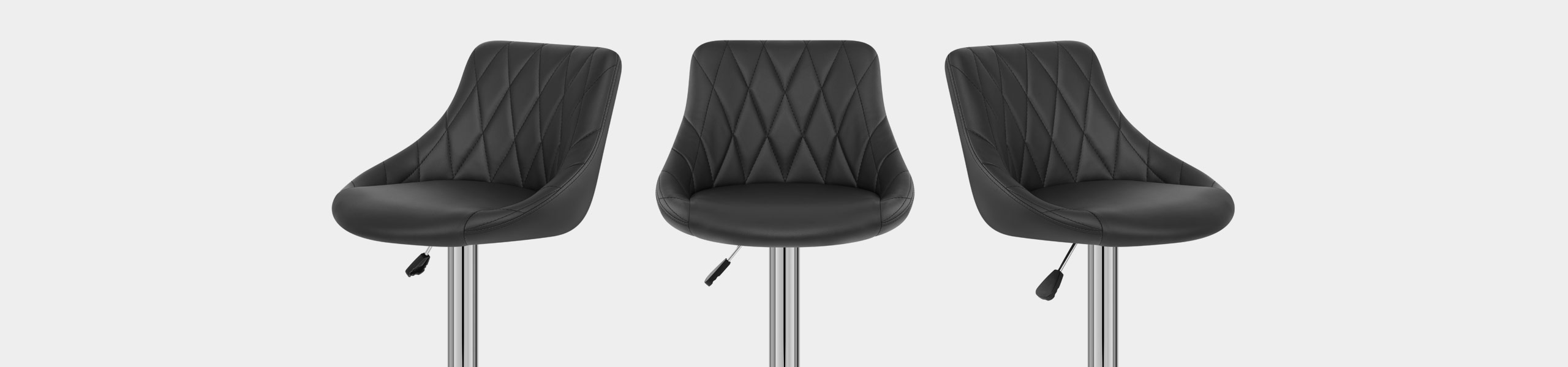 Stitch Bar Stool Black Video Banner