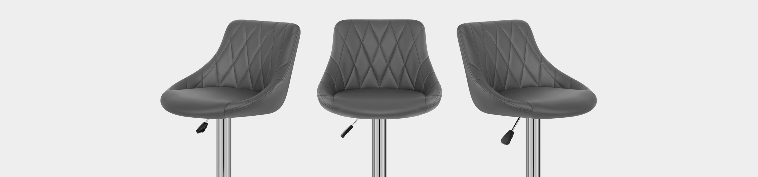 Stitch Bar Stool Grey Video Banner