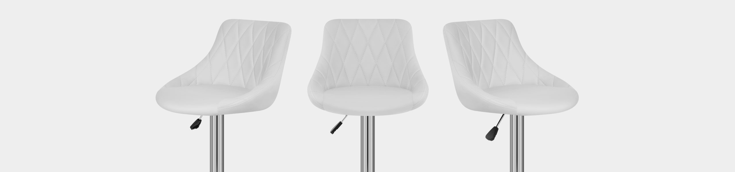 Stitch Bar Stool White Video Banner