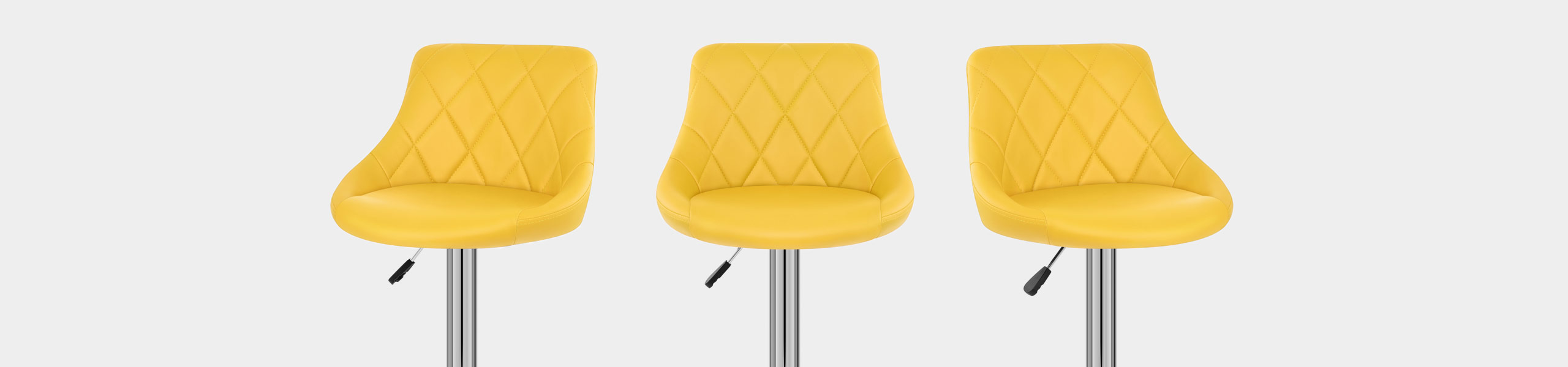 Stitch Bar Stool Yellow Video Banner