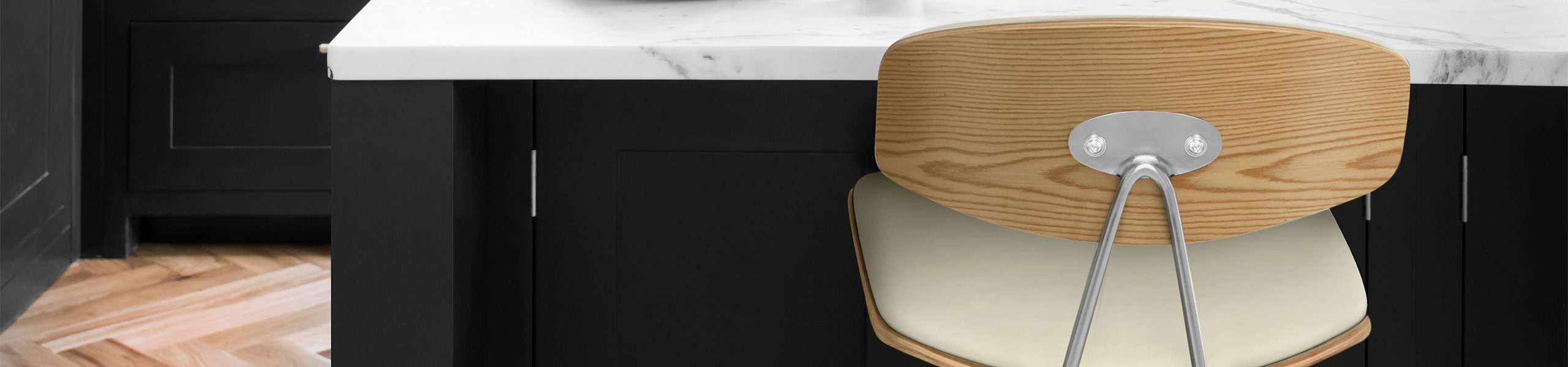 Strada Oak Bar Stool Cream Video Banner