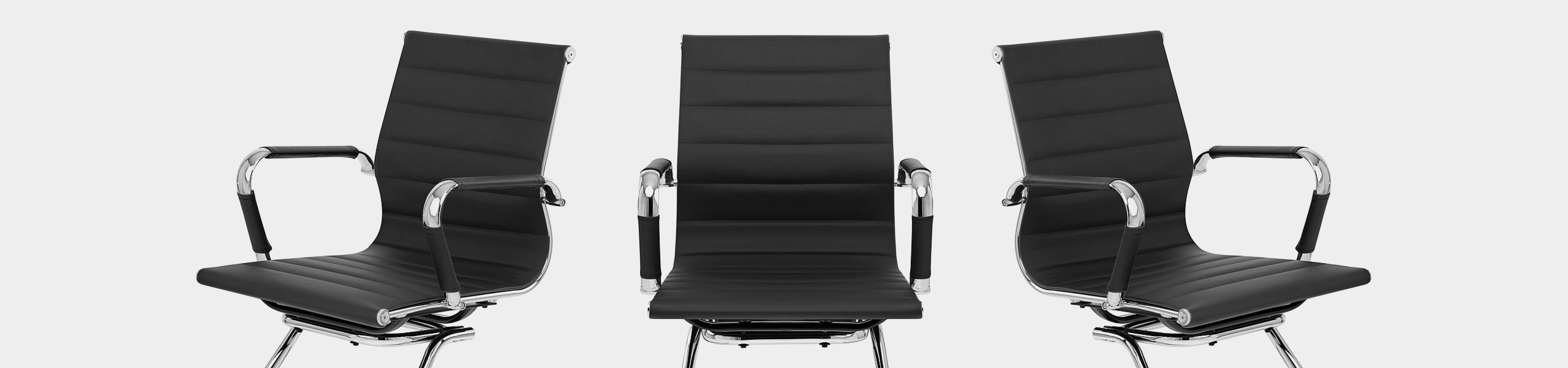 Task Office Chair Black Video Banner