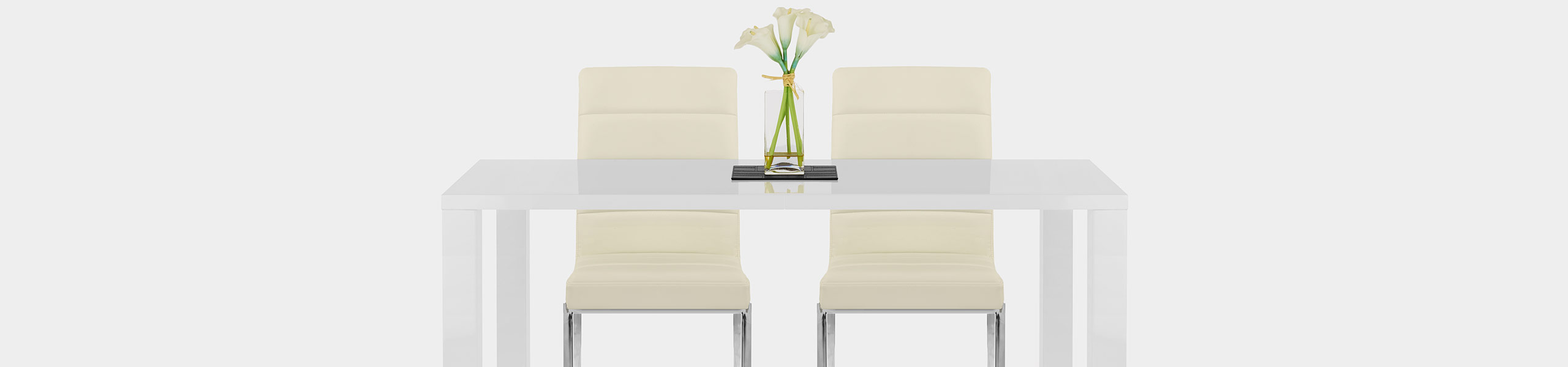 Taurus Dining Chair Cream Video Banner