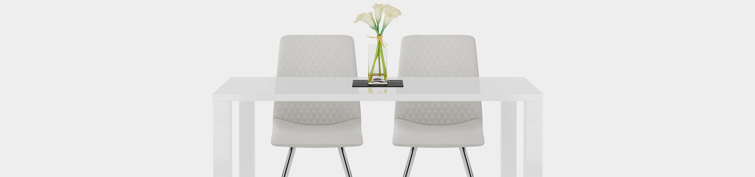 Trevi Dining Chair Light Grey Video Banner