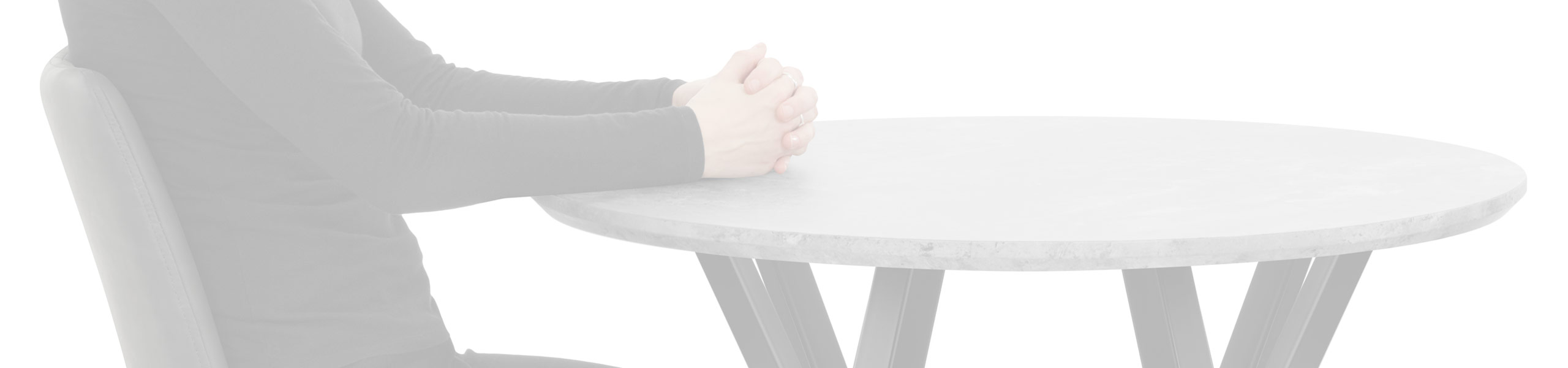 Wessex Dining Set Concrete & Charcoal Review Banner