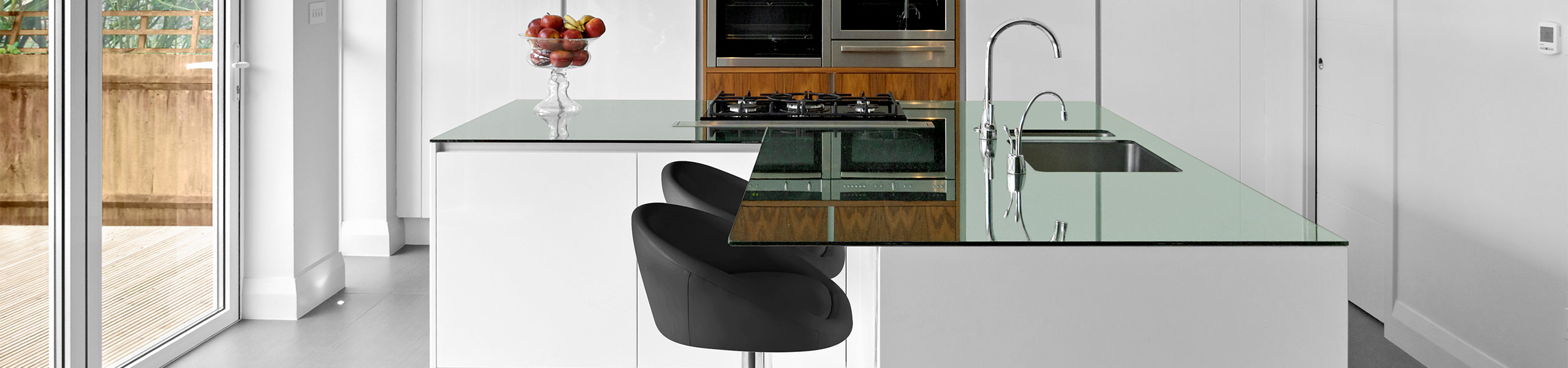 Zenith Real Leather Stool Black Video Banner