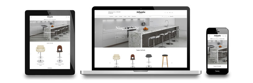 Atlantic Shopping Launch Responsive Website in 2015