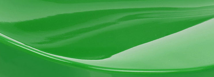 Green Gloss ABS Plastic Used in Bar Stool Design